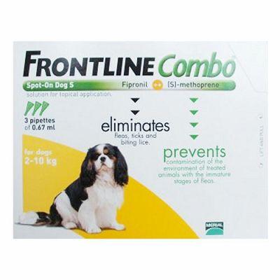 Frontline Combo S // 2-10kg - 1 ampula