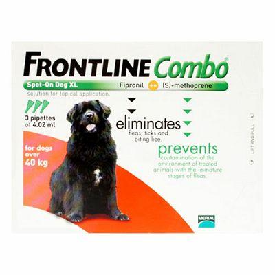 Frontline Combo XL // preko 40kg