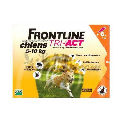 Frontline TRI-ACT S // 5-10kg - 1 ampula