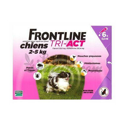 Frontline TRI-ACT XS // 2-5kg - 1 ampula