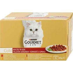 Gourmet Gold hrana za mačke 4x85g