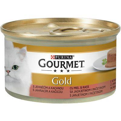 Gourmet Gold hrana za mačke janjetina i pačetina 85g
