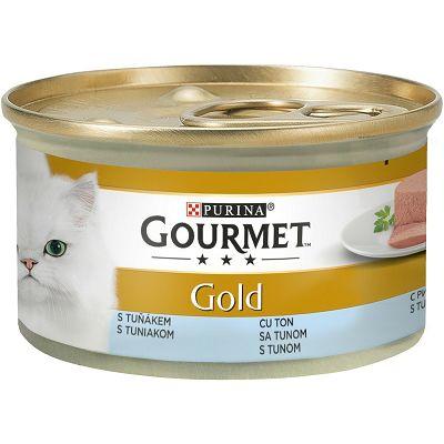 Gourmet Gold Mousse pašteta za mačke sa tunjevinom 85 g