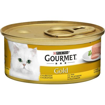 Gourmet Gold Mousse pašteta za mačke sa piletinom 85 g