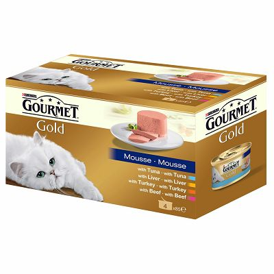 Gourmet Mousse hrana za mačke u 4 okusa po 85g