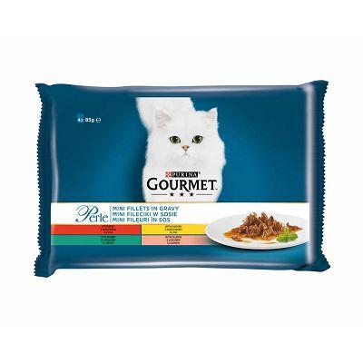 Gourmet Perle fileti hrana za mačke u 4 okusa po 85g