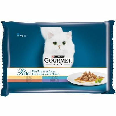 Gourmet Perle hrana za mačke u 4 okusa po 85g
