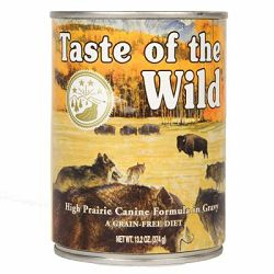High Prairie Canine Formula sa bizonom i pečenom srnetinom, 374 g