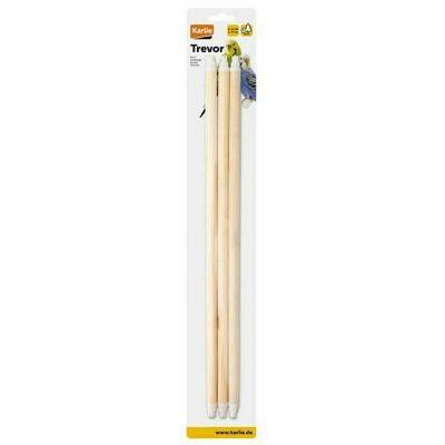Karlie drvene stajalice za ptice 45cm