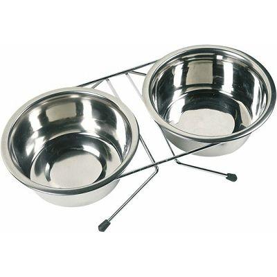 Karlie Duo dinner zdjele za hranu 2x1600ml