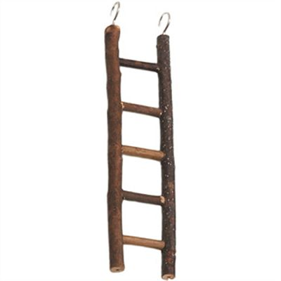 Karlie igračka za ptice, merdevine od neobrađenog drveta 5 prečki/26 cm