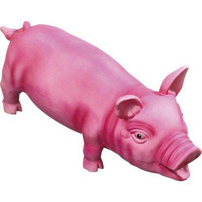 Karlie latex pig 33cm pink