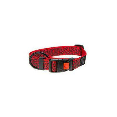 Karlie ogrlica za psa 30-45cm 15mm crveno plava S