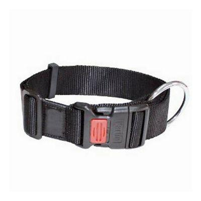 Karlie ogrlica za psa 35-40cm x 20mm crna S/M