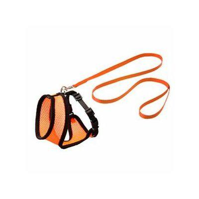 Karlie prsnik set za mačke orange/crno 108cm x 10mm