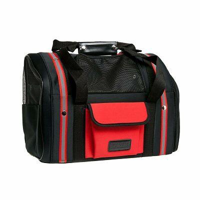 Karlie Smart Bag torba za pse crno-crvena 44x32cm