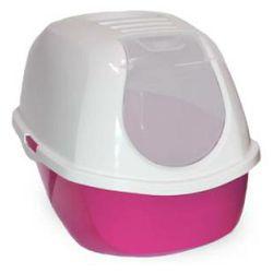 Karlie toalet za mačlke 52x39x41cm pink