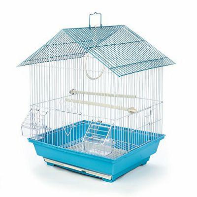 Kavez za ptice 30x23x39cm plavi