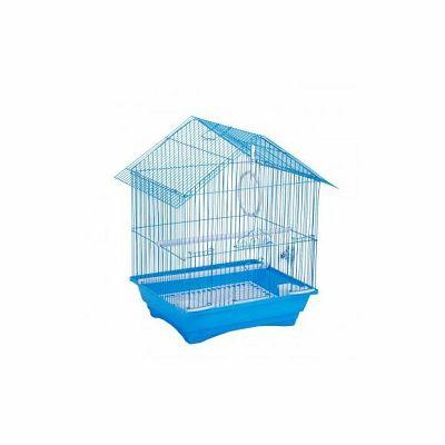 Kavez za ptice 35x28x46cm plavi