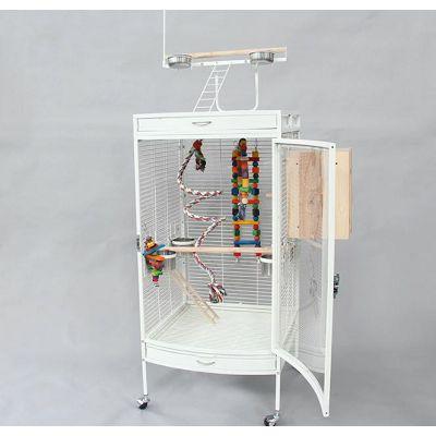 Kavez za ptice 60x63,5x155cm sa pleksiglas stranicom