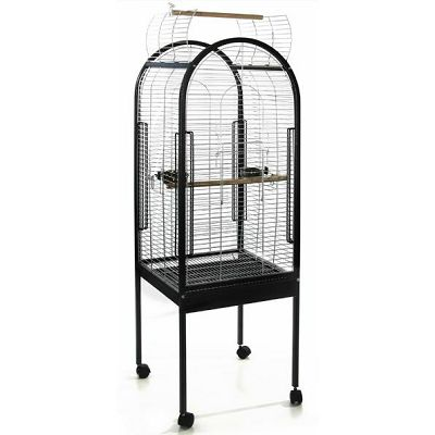Kavez za ptice zeleni 53x52x156cm