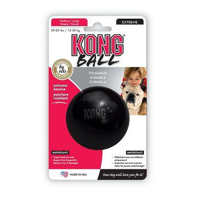 Kong Ball Extreme lopta crna