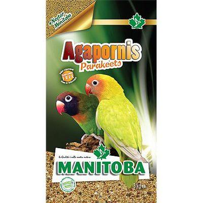 Manitoba Agapornis hrana za srednje papige, 1 kg