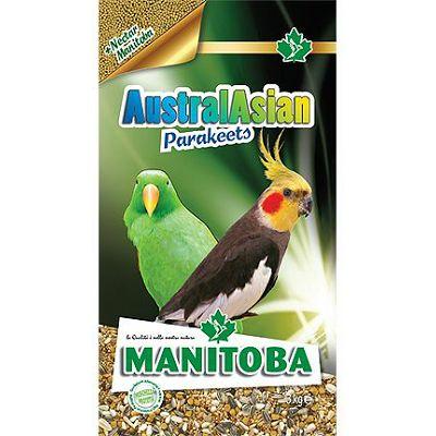 Manitoba AustralAsian Parakeets hrana za srednje papige, 1 kg