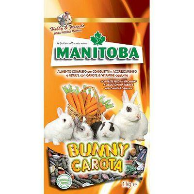 Manitoba Bunny Carota peletirana hrana za zečeve 1kg