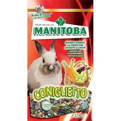 Manitoba Coniglietto voćna hrana za zečeve 1kg