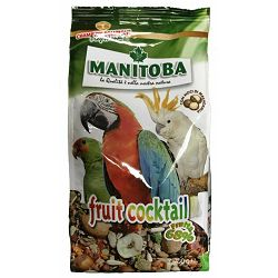 Manitoba Fruit Cocktail voćni mix za papige, 700g