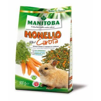 Manitoba Monello Pellet Carota hrana za zečeve mrkva 900g