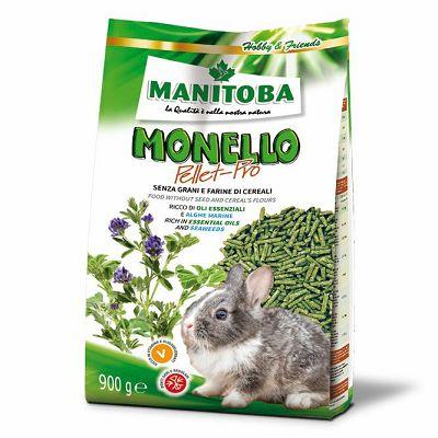 Manitoba Monello Pellet za glodare 900g
