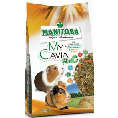 Manitoba My Cavia plus C hrana za zamorce 2kg