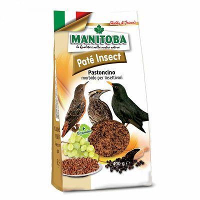Manitoba Pate Insect jajčana hrana sa insektima za ptice 400g
