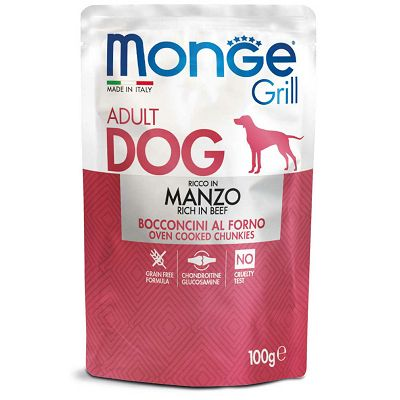 Monge Grill Adult Dog govedina hrana za pse 100g