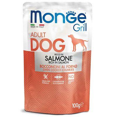 Monge Grill Adult Dog riba losos hrana za pse 100g
