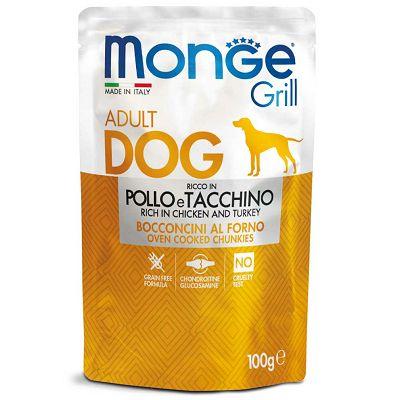 Monge Grill Adult Dog piletina i puretina hrana za pse 100g