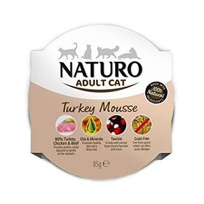 Naturo Adult Cat Turkey Mousse hrana za mačke puretina 85g