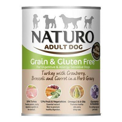 Naturo Adult Dog Grain & Gluten Free / puretina 390g
