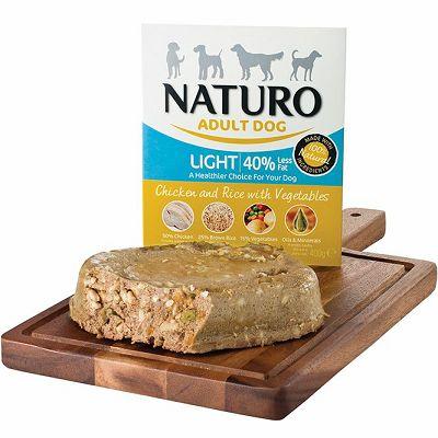 Naturo / Adult LIGHT / PILETINA & RIŽA sa POVRĆEM 400g