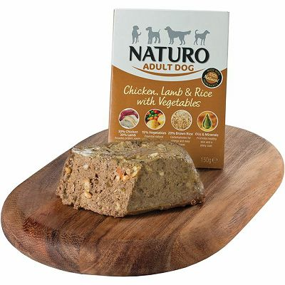 Naturo / Adult PILETINA & JAGNJETINA sa rižom/povrćem 150g