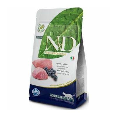 N&D Adult janjetina / borovnica hrana za mačke 300g