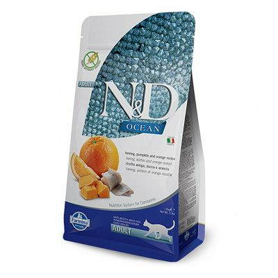 N&D Adult Ocean hrana za mačke 1,5kg