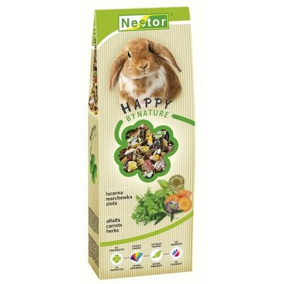 Nestor hrana za zečeve biljke i alfalfa