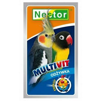 Nestor multivitamin za srednje ptice 20g