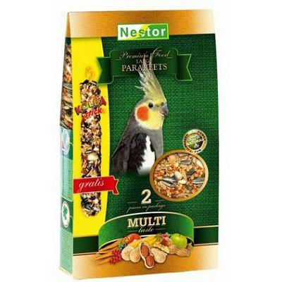Nestor / Premium hrana za srednje ptice+GRATIS poslastica 800g