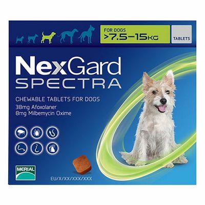 Nexgard Spectra M // 7,5-15kg
