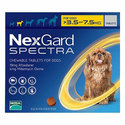 Nexgard Spectra S // 3,5-7,5kg