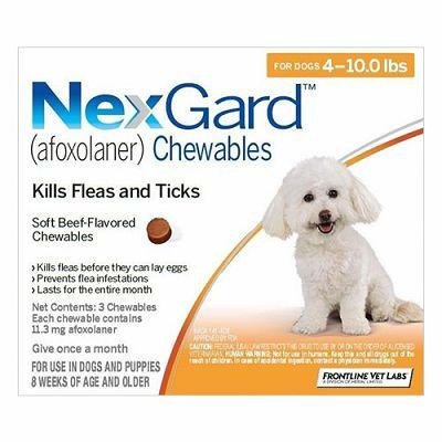 NEXGARD tablete protiv buha i krpelja za pse težine 2-4 kg